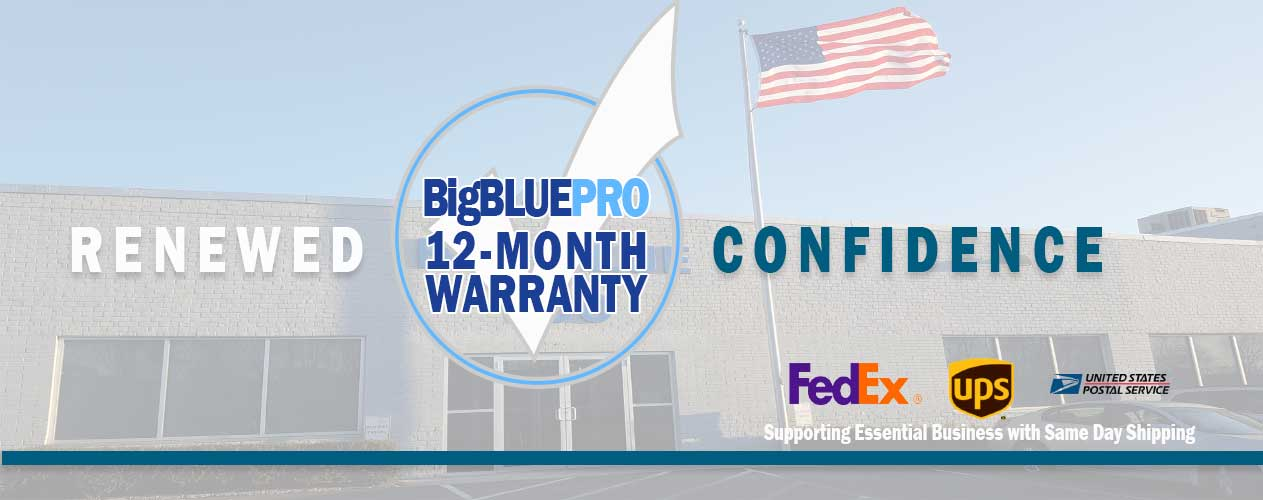 BigBluePRO 12-Month Warranty by Big Blue Products