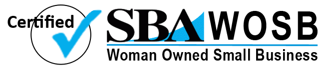 Certified Small Business Administration (SBA) Women Owned Small Business (WOSB) Company